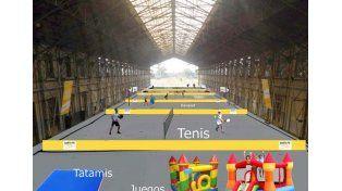 Juegos de Invierno en la Estación Belgrano