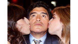 Maradona anulará el testamento que beneficiaba a Dalma y Gianinna