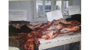 Madre e hijo detenidos por robo de ganado seguido de faenamiento clandestino