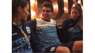 ¡Son unos genios! El divertido video de los atletas argentinos