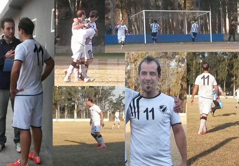 Fernando Gaitano hizo media docenas de goles para su equipo este fin de semana.