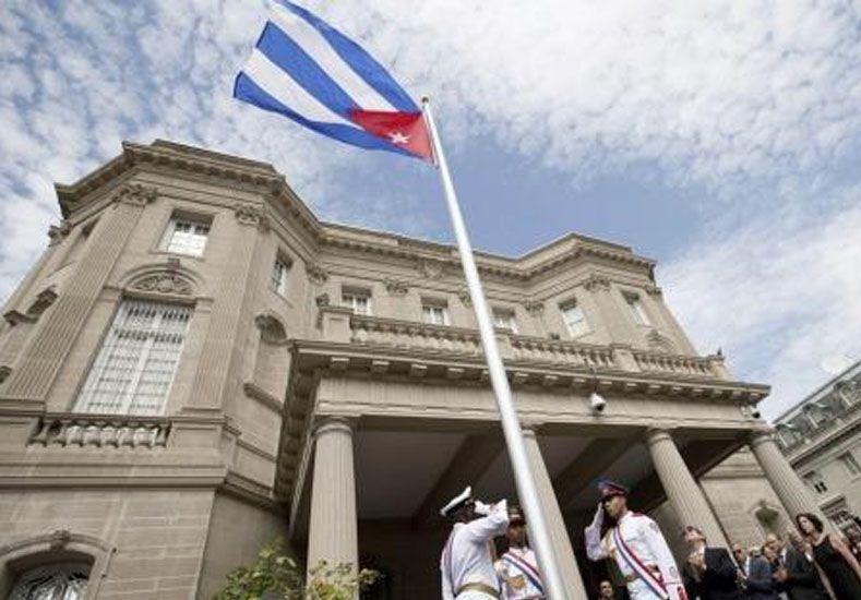 Cuba reabrió su embajada en EEUU en una ceremonia con 500 invitados