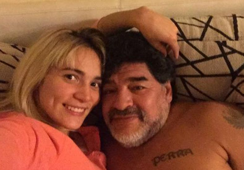 La prueba de amor de Rocío a Maradona