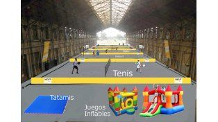 Juegos de Invierno: para hacer deportes en la Estación Belgrano