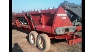Recuperaron maquinaria agricola robada en Santa Fe, en un allanamiento en Santiago del Estero