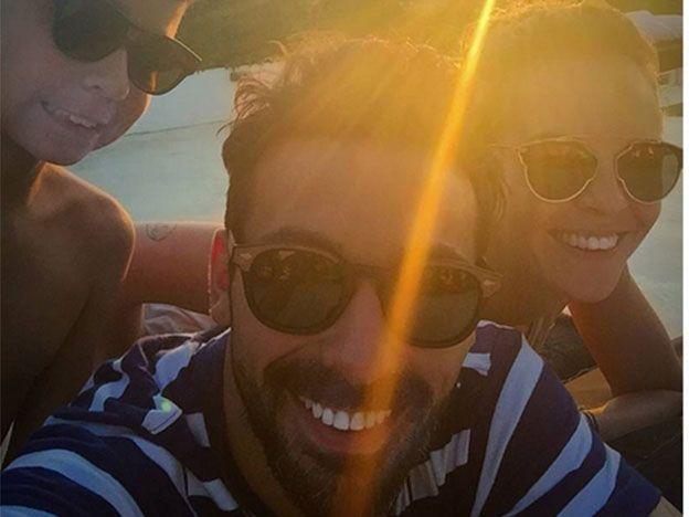 Lavezzi y Screpante, de vacaciones