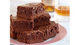 Para golosos: un brownie 100% light