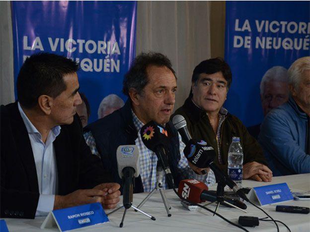 Scioli propuso crear el Ministerio de Derechos Humanos