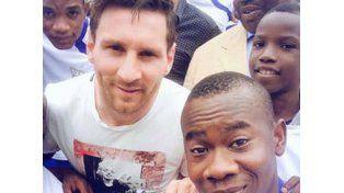 Messi genera locura en Africa