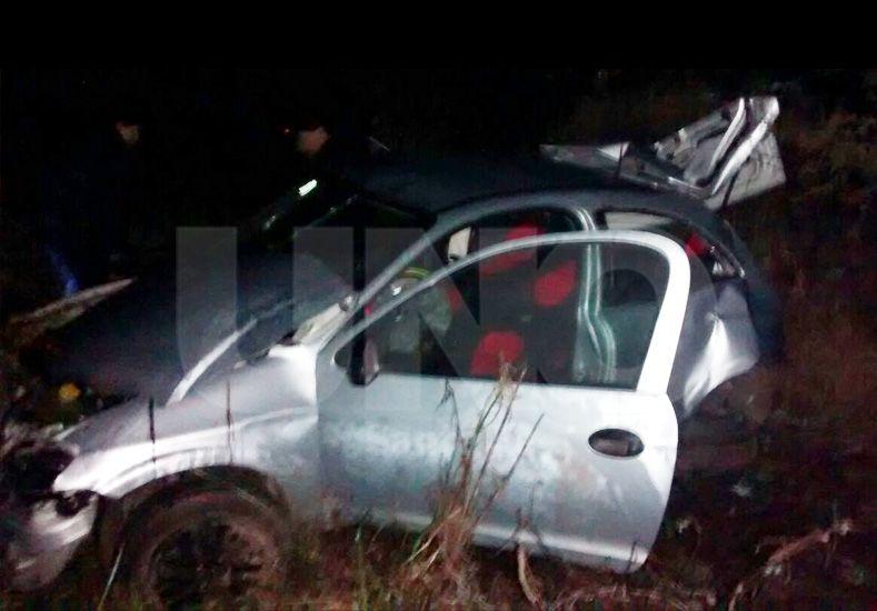 Colonias Mascias: murió una mujer policía en un violento vuelco ocurrido en el departamento Garay