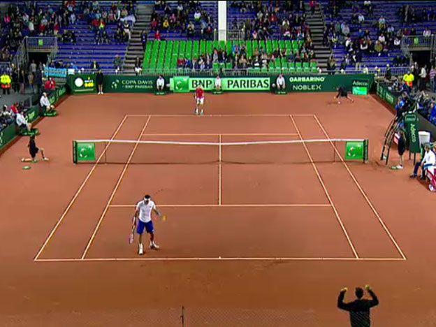 Mayer-Krajinovic inician la serie entre Argentina y Serbia