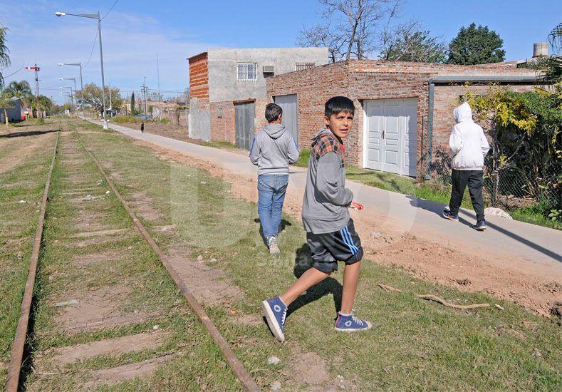 Antiguas. Los vecinos aseguraron que algunas de las edificaciones tienen más de diez años. UNO de Santa Fe/Manuel Testi