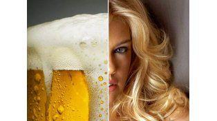 ¿Sabías que la cerveza es un decolorante para el cabello?