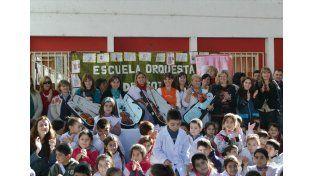 Once escuelas primarias se sumaron a la Red de Orquestas Infantiles - Juveniles