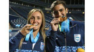 Desde el tenis llegó la séptima medalla de oro para Argentina en Toronto