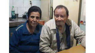 Sergio Woronka de 48 años y su esposa