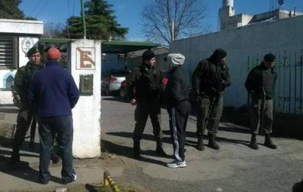 El operativo fue ordenado por una fiscal y estuvo a cargo de la Gendarmería.