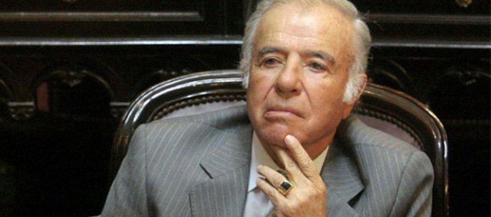 AMIA: prohibieron salida del país de Menem y otros acusados que serán juzgados en agosto por encubrimiento
