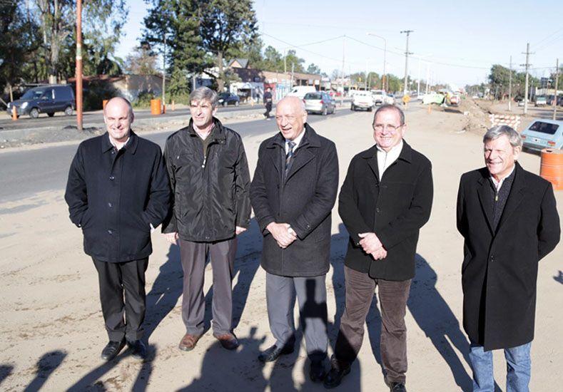 Las obras de ampliación de la ruta provincial N° 1 llevan un avance de casi el 60%