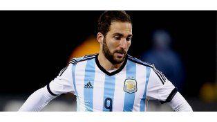 ¿No vieron la Copa América? Nápoli tasó a Higuaín en 110 millones de dólares