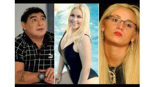 Maradona separado de Oliva, ¿vuelve con Ojeda?