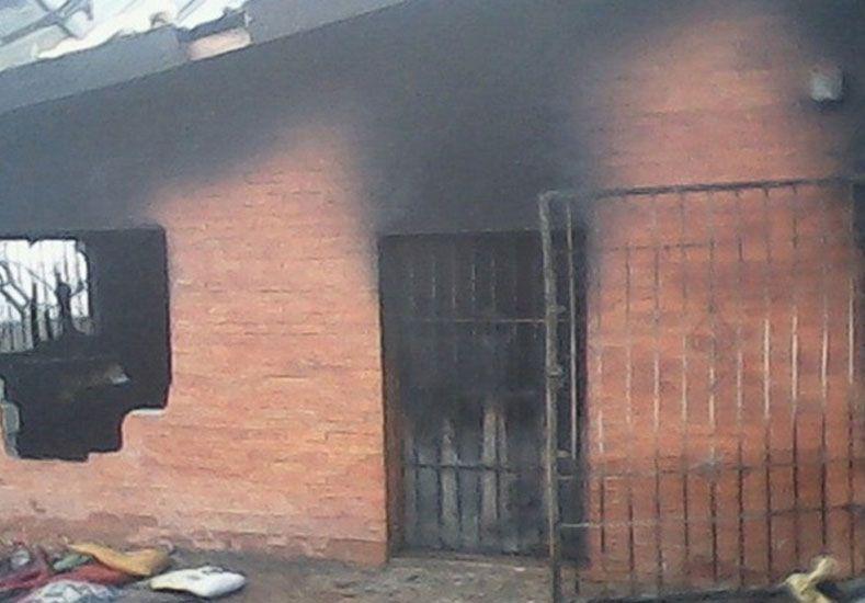 Un chico de diez años y su padre murieron en un trágico incendio