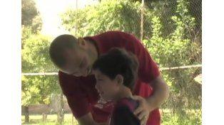 El hermoso gesto de Mascherano con un nene que lloraba por él