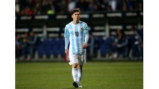 Guiño de Messi a su equipo