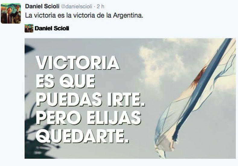 Scioli eligió las redes sociales para lanzar su campaña