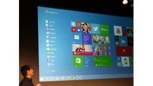 Microsoft lanzará Windows 10 el 29 de julio