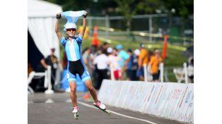 El patín carrera le dio el segundo oro panamericano a Argentina