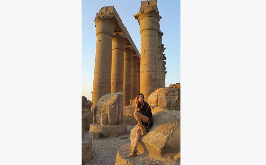 Las fotos de Victoria Vannucci de vacaciones en Egipto