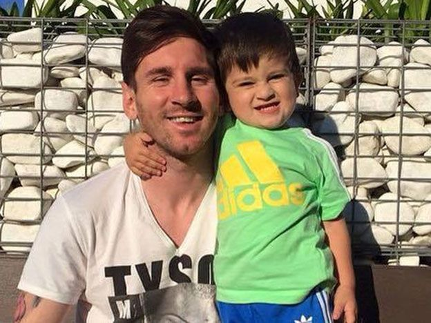 Lejos de las críticas, Messi publicó en las redes sociales