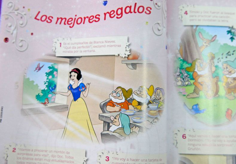 Pedí este martes la revista nº 13 de Princesas de Disney que celebra su cumpleaños