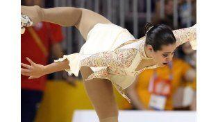 La patinadora Giselle Soler le dio la primera medalla de oro a la Argentina