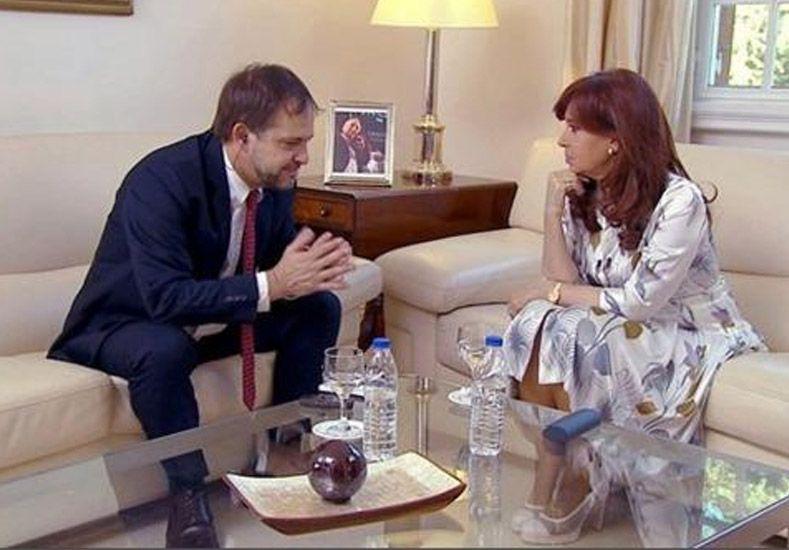 Cristina dio una extensa entrevista al la revista norteamericana The New Yorker