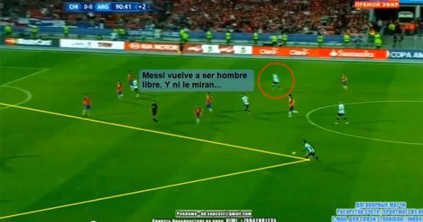 Furor por el video que explica por qué Messi no juega en la selección como en Barcelona