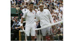 Nole ganó la final de 2014 en 5 sets. Federer busca su octavo Wimbledon.