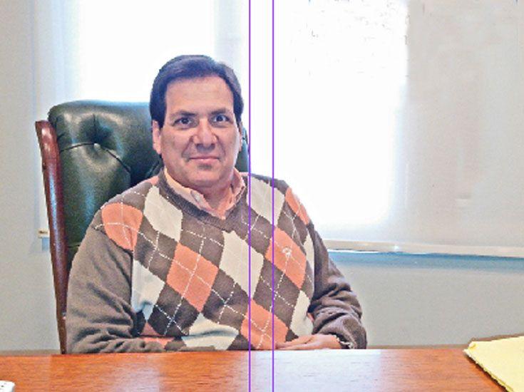 Titular. Manuel Sikh lleva tres años como presidente del Club Sirio-Libanés de Santa Fe.