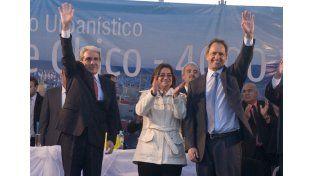 """Scioli reafirmó su compromiso """"con el federalismo productivo y con la argentina profunda"""""""