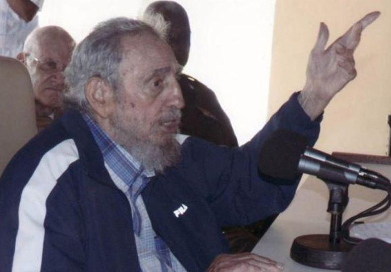 Fidel Castro apareció en público por segunda vez en una semana