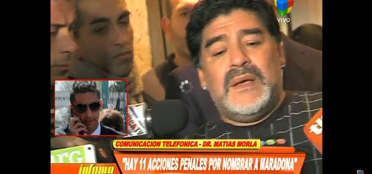 Lo único que une a Maradona con Ojeda son dos causas penales y el hijo