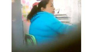 Otra profesora que estalló, esta vez en México