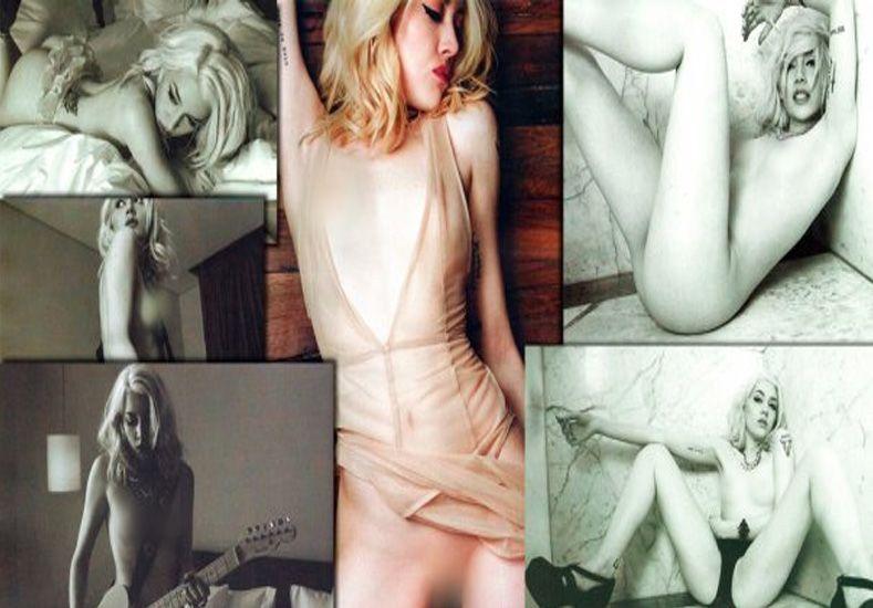 Militta Bora desnuda en Playboy