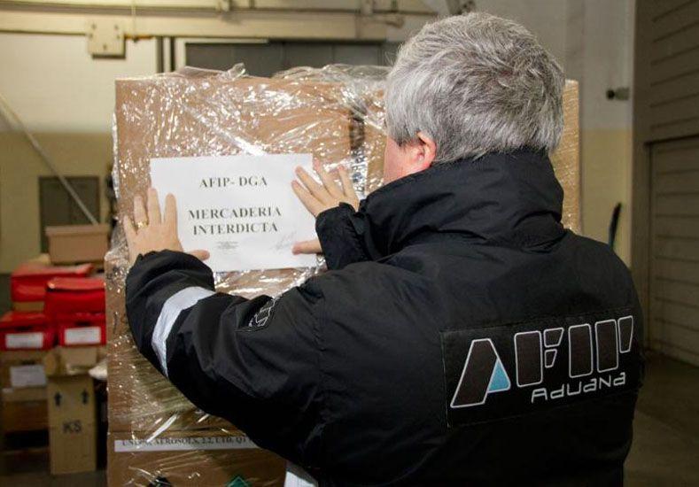 La AFIP impidió el ingreso ilegal al país de aerosoles de gas pimienta