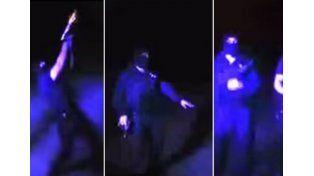 Polémico video de dos policías bailando Nene Malo a los tiros