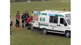 Tensión en el fútbol de ascenso: sufrió un pre infarto en pleno partido