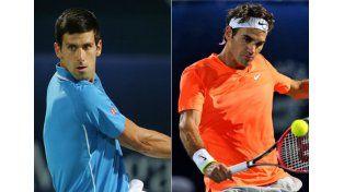 Djokovic y Federer ya se miran de reojo en Wimbledon