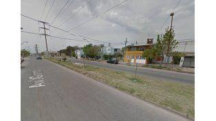 La zona en donde se produjo la detención. Google Street View.