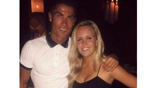 Perdió el celular, lo encontró Ronaldo y la invitó a cenar